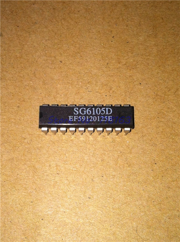 1pcs/lot SG6105DZ SG6105D SG6105 DIP-20 In Stock