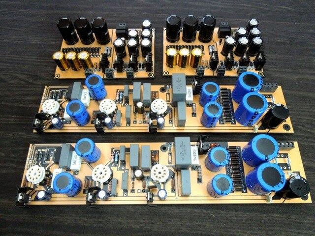Douk Audio niemiecki D.Klimo LAR Gold Plus rura MM/MC Phono Stage płyta wzmacniacza DIY Kit