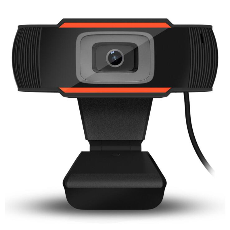SeenDa Webcam 480p USB Camera Rotatable Video Recording Web Camera With Microphone For PC Computer