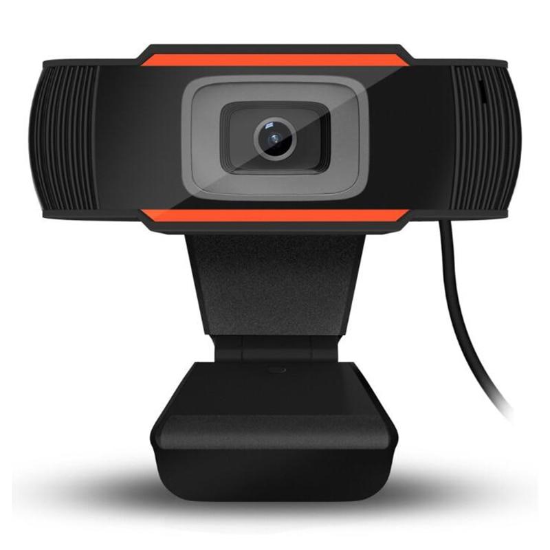 SeenDa Webcam 480p USB Camera Rotatable Video Recording Web Camera With Microphone For PC Computer