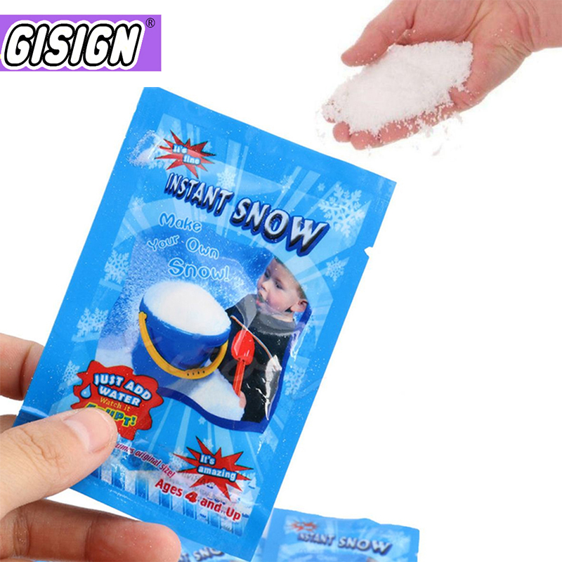 Fake Snowflakes Snow instant Addition for Slime Filler Supplies Slimes Charms DIY Polymer Accessories Decro for Kids Toys(China)