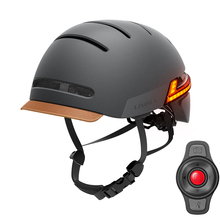 Bike Helmet Remote-Bluetooth-Speaker Turn-Signal Smart Cycling-Mounting-Skateboarding