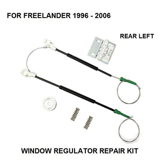 Para land rover freelander regulador de janela elétrica kit de reparação traseira esquerda 1996 2006