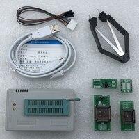 V10.08 xgecu tl866ii plus suporte ao programador usb 15000 + ic spi flash nand eeprom mcu pic avr substituir tl866a tl866cs + 4 adaptadores|adapter tl866a|adapter tl866|adapter avr -