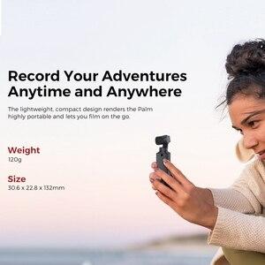 Image 5 - FIMI כף מצלמה 3 ציר 4K HD כף יד Gimbal מצלמה מייצב רק 120g & 128 ° רחב זווית חכם מסלול מובנה Wi Fi שליטה