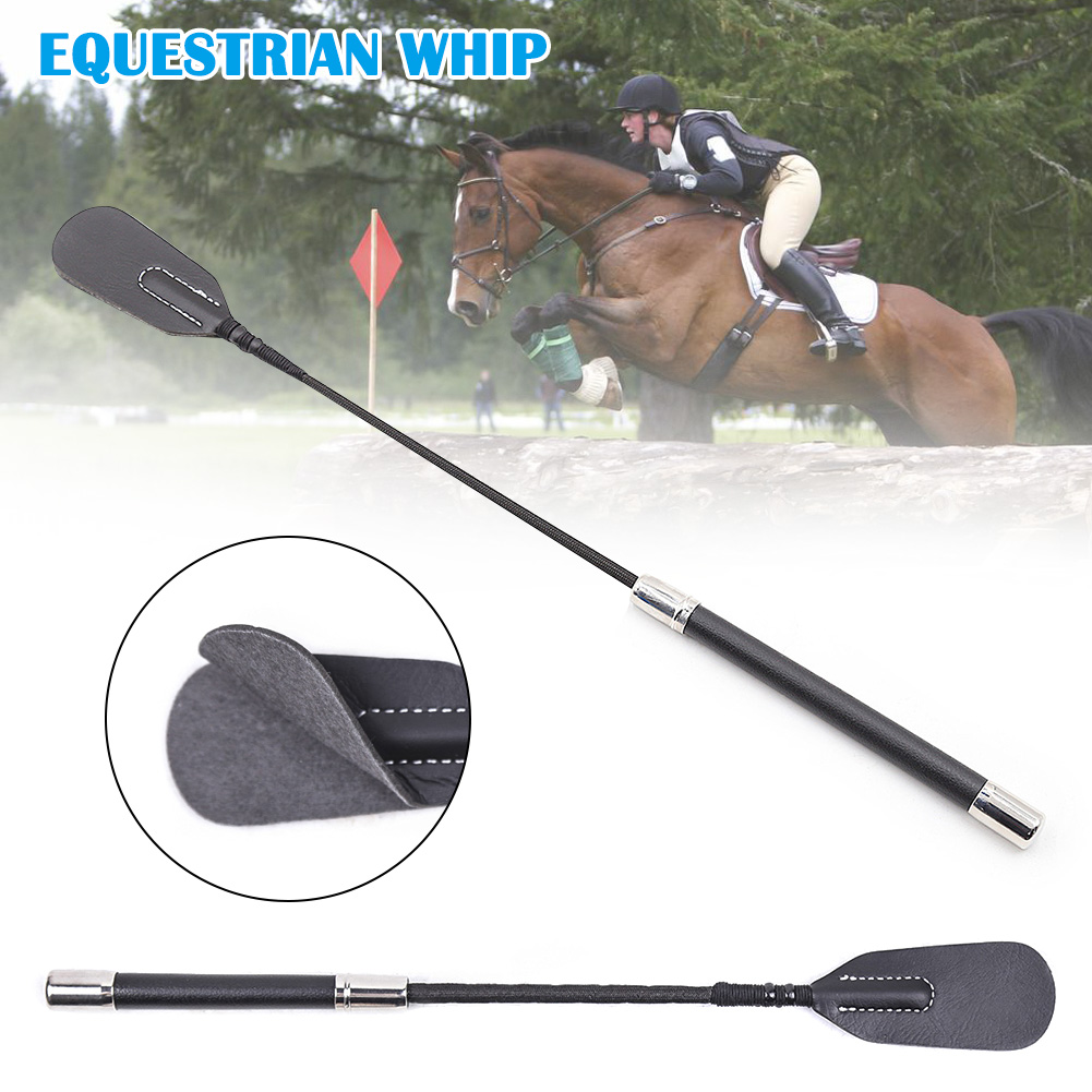 35/45/53CM Riding Crops Horse Whip PU Leather Horsewhips Horse Racing Equestrian Supplies Sex Toy Horse Riding Equipment