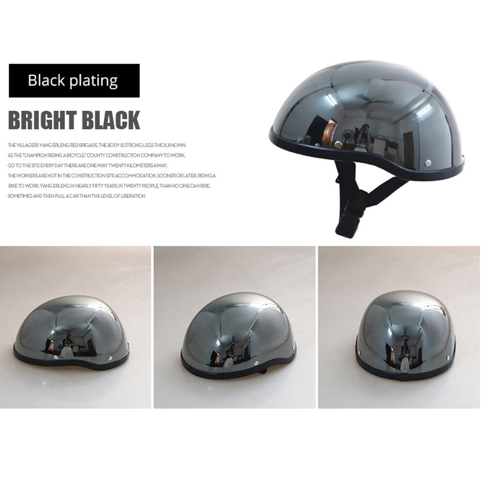 HEROBIKER Motorcycle Helmet Retro Moto Helmet Half Face Helmet Motorcycle Racing Off Road Helmet Casco Moto Capacete Casque 2