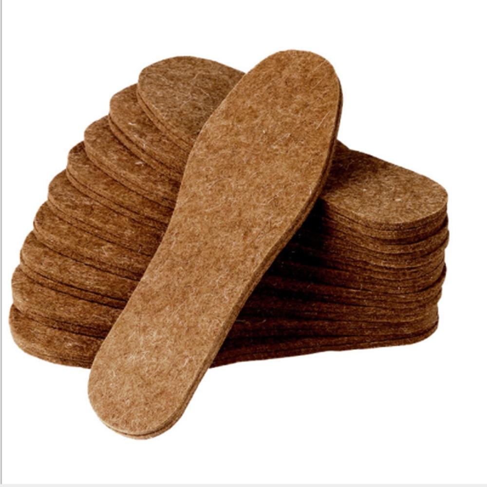 New Winter Boot Shoe Warm wool Fleece Thermal Insoles for Men Women 1 pair/<