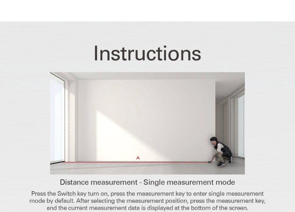 Instructions of tool