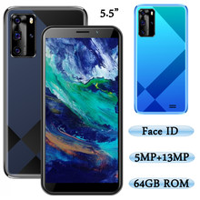 5.5 polegada 7a pro desbloqueado 5mp + 13mp telefones celulares originais frente/câmera traseira face id 4g ram 64g rom smartphones wifi versão global