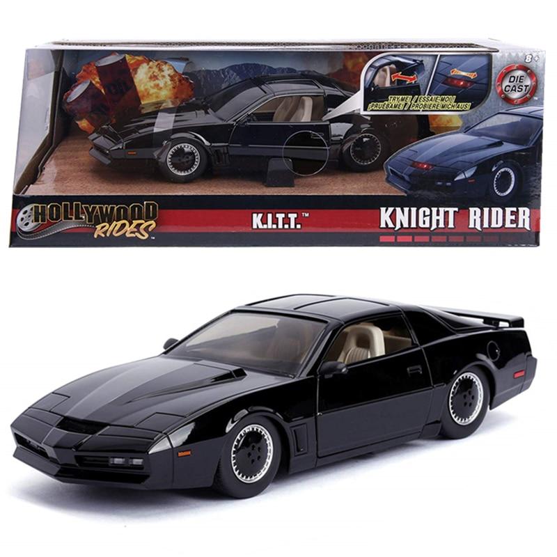 1:24 Car Knight Rider KITT Smart Sports Car Pontiac Firebird Model Metal Diecast Model Car Kids Toys Gift