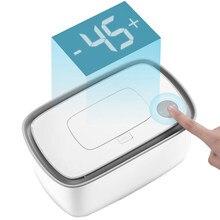 Bebê elétrico molhado tecido dispensador de papel caso guardanapo aquecimento caixa armazenamento aquecedor controle temperatura termostato limpa aquecedor