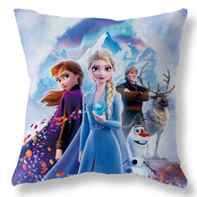 2020 Disney s new car princess pillowcase cartoon cushion airplane pillowcase boy girl gift 45x45cm
