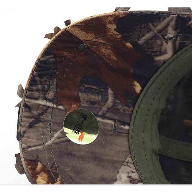 Novo jogo de guerra camuflagem sniper boné