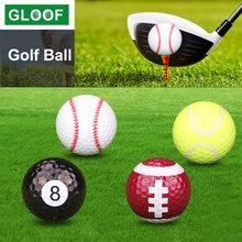 1 шт резиновый мяч для гольфа