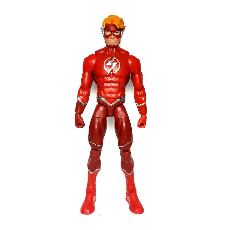 """DC Comics Multivese Flash Wally West 6 """"свободная фигуркаИгровые фигурки и трансформеры    АлиЭкспресс"""