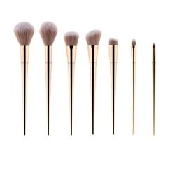 Cheekdourl 7 pièces/ensemble de pinceaux de maquillage pour fond de teint cosmétique poudre Blush fard à paupières Kabuki mélange pinceau de maquillage