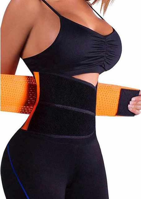 Postpartum Shapewear Body Shaper Bandage Sweat More Waist Trainer for Women Weight Loss Corset Belly Band Belt Control Slimming 5