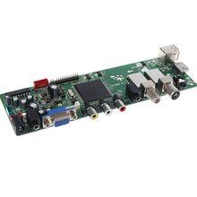 DVB S2 DVB T2 DVB C 디지털 신호 ATV 메이플 드라이버 LCD 원격 제어 보드 발사기 유니버설 듀얼 USB 미디어 QT526C V1.1