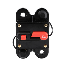 Circuit Breaker Reset Fuse Holder 50Amp-100Amp Circuit Breaker Reset Fuse Holder Car Boat Fuse Holders Waterproof 12-24V New 60A