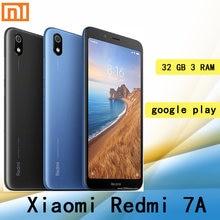 Celular Xiaomi Redmi 7A smartphone ile küresel çerçeve Googleplay 3GB 32GB 4000mah pil Snapdragon 439 işlemci