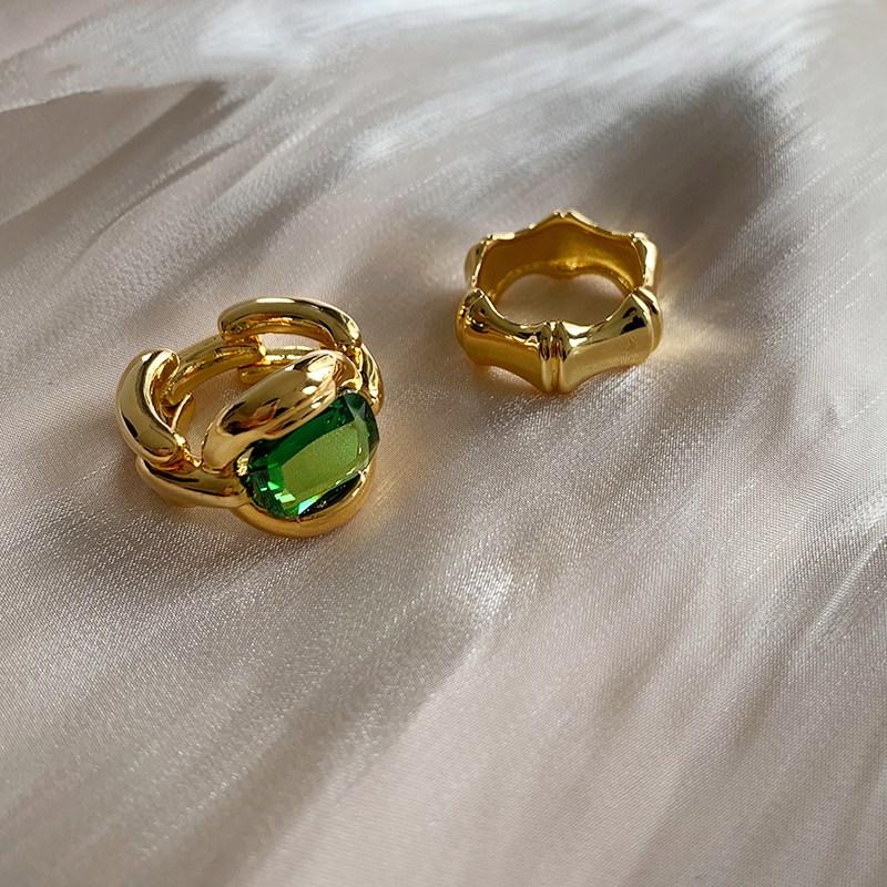 Mengjiqiao 2020 г Модные металлические кольца неправильной формы