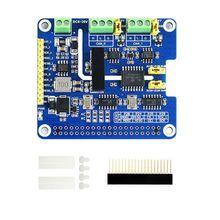 2 канала 8 Мбит/с Изолированная CAN шина Плата расширения встроенная схема защиты Поддержка CAN2.0 CAN FD для Raspberry Pi
