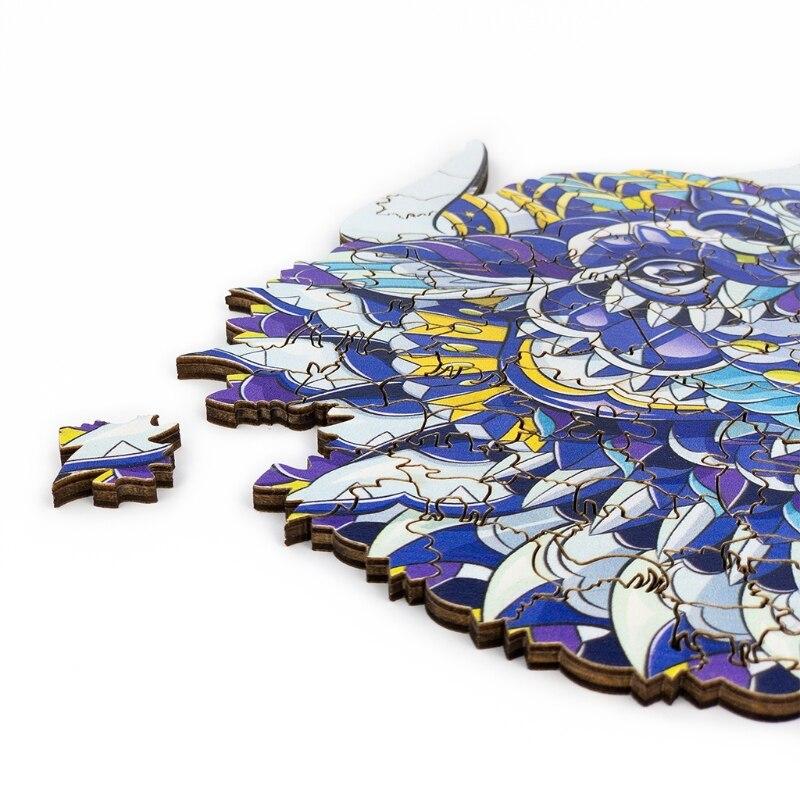 q9qb disentanglement puzzle animal jigsaw casa decorativa pintura diy criancas 04