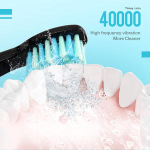 Image 5 - 5 Modes AZ 9 Pro Sonic Electric Toothbrush USB Rechargeable+ Replacement Heads Waterproof Timer for Adults Tooth Whitening Brush