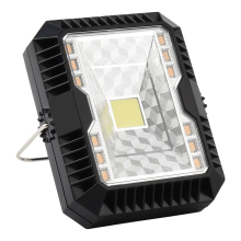 Multi-function Rechargeable LED Tent Light Solar Power Lantern Adjustable Camping Lamp for Hiking Emergencies Portable Lighting