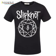 New Hot Summer Casual T-shirt Printing Rock Punk Band Slipknot T Shirts Hiphop Streetwear Tshirts Fashion