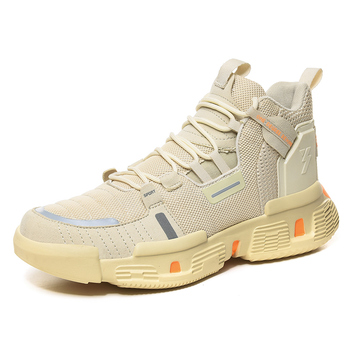 Hot Sale Basketball Shoes Comfortable High Top Breathable Training Boots Ankle Boots Outdoor Men Sneakers Athletic Sport Shoes