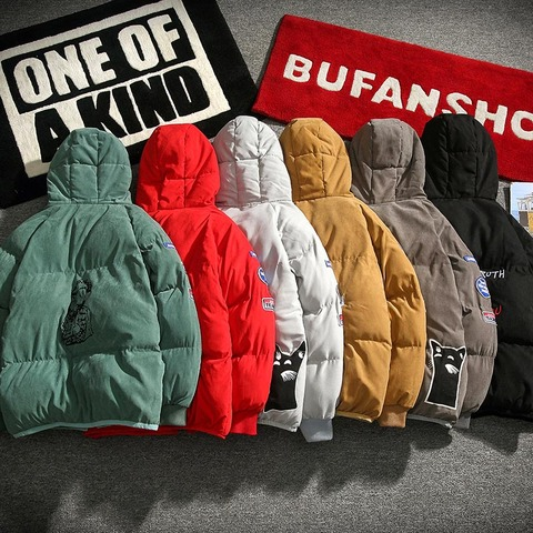 New Winter Warm Downs Jacket Men cotton liner Outwear Thick Snow Parkas Hooded Coat Male Casual Thermal Windproof Downs Jacket Lahore