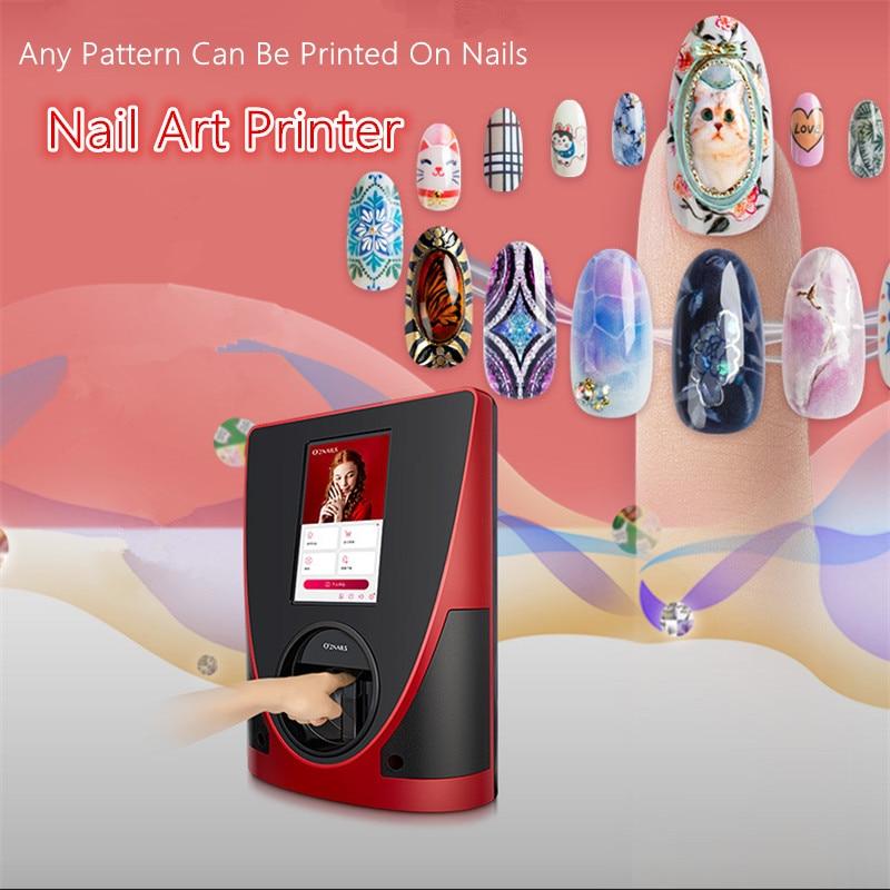 o2nails impressora de unhas movel equipamento para arte de unhas profissional ferramentas para manicure impressao de