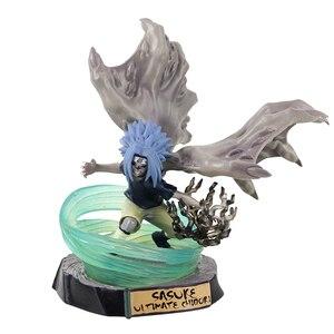 Image 5 - Figurine Naruto Uzumaki Sasuke Uchiha Obito Gaara GK Senju Hashirama Momochi Zabuza GK Itachi, modèle en PVC, 13 30cm, cadeau à offrir