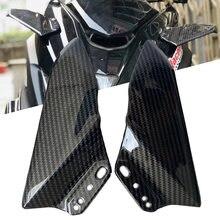Ailes aérodynamiques avant de moto en plastique ABS, carénage de pare-brise pour Yamaha YZFR3 R15 R25 R125 2000-2020