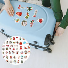100 Sheets Stickers Sturdy Prime High Quality Durable Laptop Decal Luggage Sticker Christmas Sticker for Kid Xmas(China)