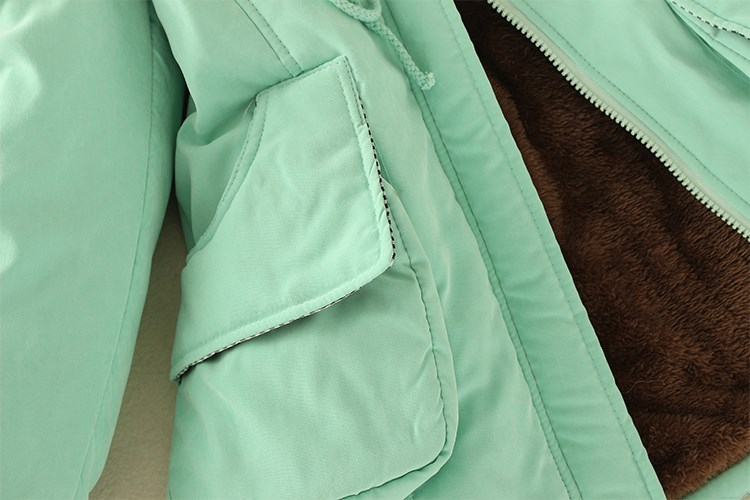 19 Parka Women Jacket Women Winter Coat Women Warm Hooded Women Parka Female Jacket Long Coat Parkas 16 Colour Free Shipping 17