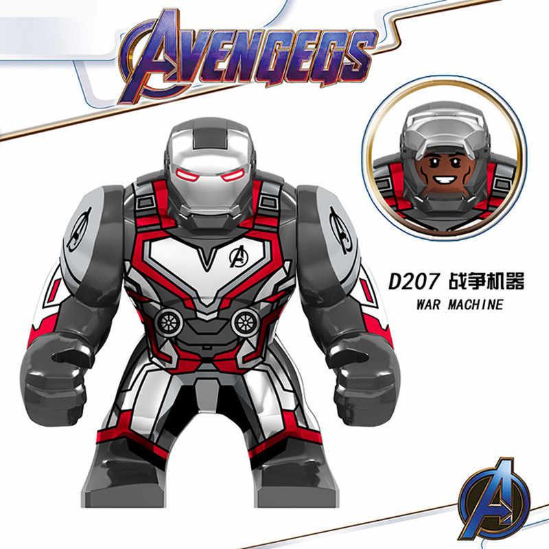 Marvel Avengers Hulkbuster Bane 아이언 맨 타 노스 배트맨 스파이더 맨 독 전쟁 기계 피규어 빌딩 블록 어린이를위한 장난감