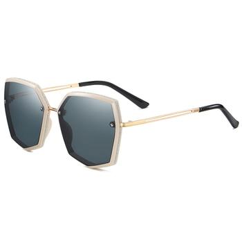 Top Quality Polarized Sunglasses Women Designer New 2021 Trend Driving Sun Glasses For Women Vintage Travel Eyewear UV400 Shades 7
