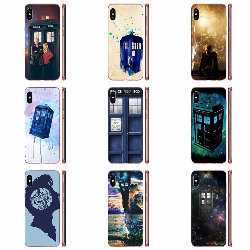 Soft Cell Phone New Tardis Doctor Who For Apple iPhone 4 4S 5 5C 5S SE SE2 6 6S 7 8 11 Plus Pro X XS Max XR