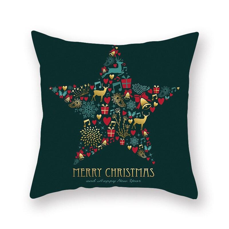 Рождественская Подушка Чехол декоративная подушка для дивана