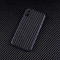 Funda de fibra de carbono Real Ultra híbrida diseñada para Apple iPhone Xs MAX diseñado para iPhone 7 De Apple 8 7 Plus 8 Plus X XR