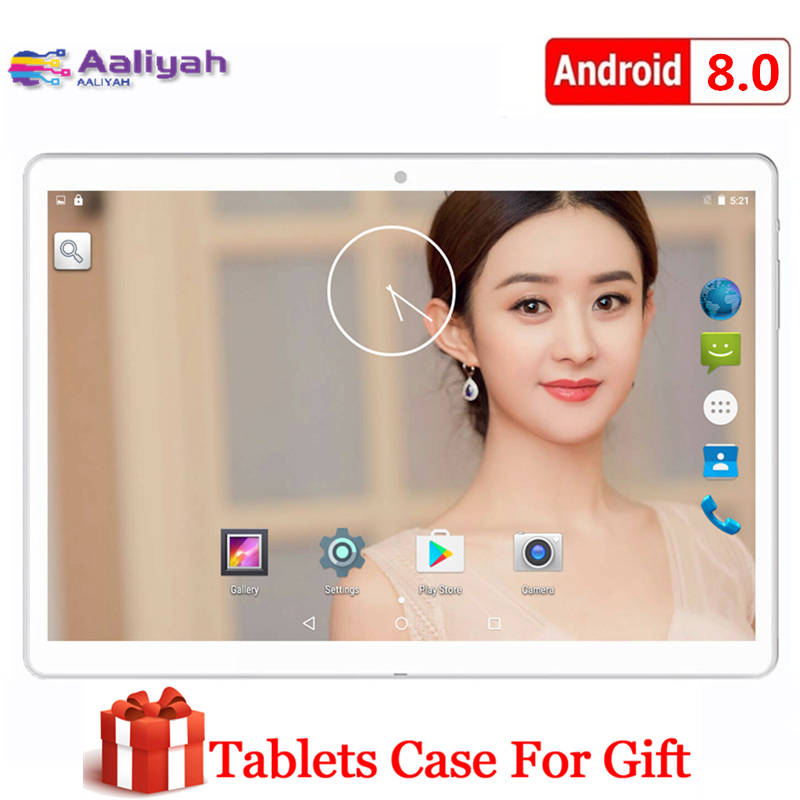 Newest Tablet Android 10.1 Inch Tablet PC 8G+128G Ten Core 4g LTE Phone Call 5G WIFI 1920*1200 IPS Screen Bluetooth Dual Cameras