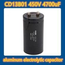 CD13 450VAC 4700uF / MFD aluminum electrolytic capacitor