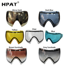 HPAT многоцветные термальные очки для большой пейнтбольной маски