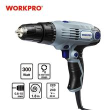 Electric-Screwdriver Power-Cord Workpro 2-Speed 10mm 300W 220V with Coreded
