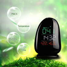 PM2.5 Detector Digital Air Quality Monitor Laser A8 Automatically Detect PM2.5 LCD Multifunctional Operating System звонок электрический светозар sv 58053