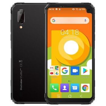 Перейти на Алиэкспресс и купить Смартфон Blackview BV6100, Android 9,0, IP68 IP69k NFC, 4G, 6,88 дюймполноэкранный сотовый телефон, 5580 мАч, 3 ГБ + 16 Гб мобильный телефон