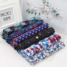 Полиэфирная хлопчатобумажная ткань для пошива стилизованные